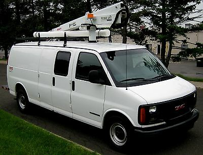 2000 GMC Savanah Bucket Van  2000 3500 Bucket Van Ansi Cert.Current,Vortech V-8,Cold AC,Auto,PS,PB,143K,Clean