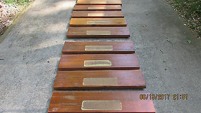 Antique Dade County Heart Pine Stairs 111 Yrs Old Barn Wood- Stair Steps