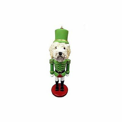 Goldendoodle Dog Toy Soldier Nutcracker Christmas Ornament