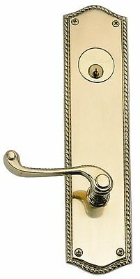 Trafalgar Privacy Door Lever BRASS Accents Free Shipping High Quality