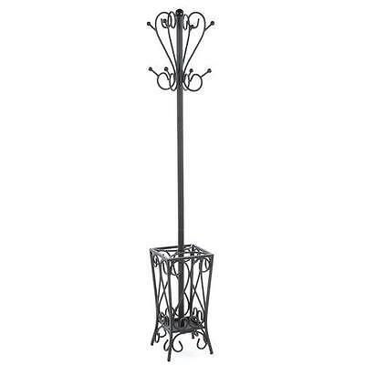 Metal Coat Rack with Umbrella Stand Rosalind Wheeler Free Shipping High Quality