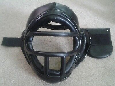 Head Gear with Face Protector for Karate, Taekwondo,Boxing/MMA. FAST SHIPPING