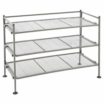 3-Tier Shoe Rack Symple Stuff Free Shipping High Quality