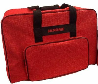 Janome Carry Case for Sewing machines – Red