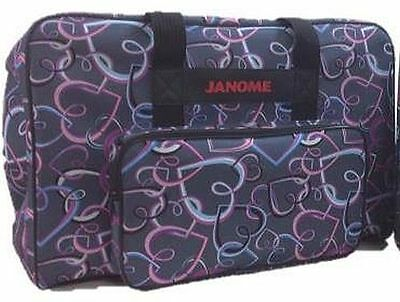 Janome Carry Case for Sewing machines – Hearts
