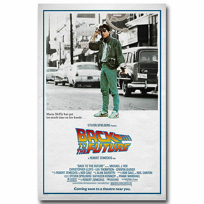 10649 Back To The Future Car 3 Classic Movie Fabric Poster Print