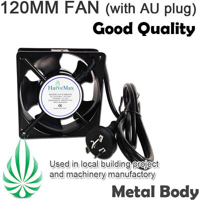 Certified Metal 240V Wall Cabinet 120Mm Energy Saving Ventilation Air Cool Fan