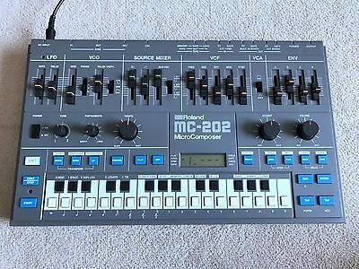 Roland MC-202 - Analog Synthesizer / Sequencer - Mint condition - Serviced -