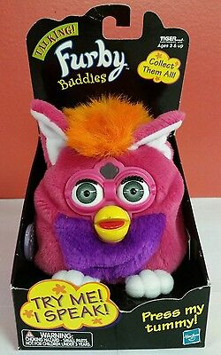 Furby Buddies 1999 Hasbro Tiger Electronics Talking in Original Package Pink