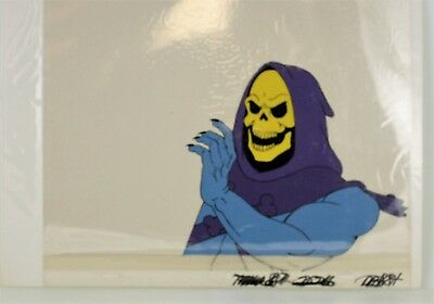 He-Man Masters of the Universe Original Animation filmation Cel SKELETOR