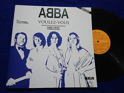 """Abba """"voulez-Vous"""" Mexico Promotional Rare Mexican Issue Radio"""