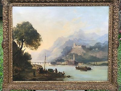 George Clarkson Stanfield  -Original 19th Century Oil on Canvas