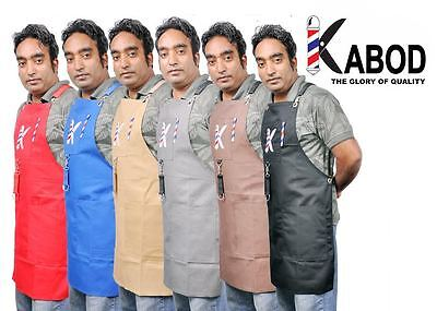 Salon Hairdressing Hair Cutting Apron with Suspenders for Barber Hairstylist