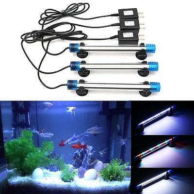 Marine/tropical LED aquarium fish tank light IP68 white blue RGB bar submersible