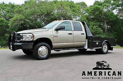 2009 Dodge Ram 3500 SLT - 4X4 - FLATBED 2009 DODGE RAM 3500 SLT 4x4 - 6.7L CUMMINS DIESEL - SKIRTED FLATBED- WE FINANCE!