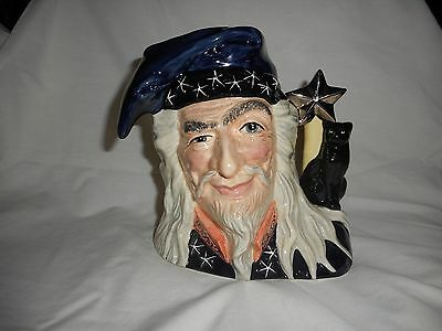 Royal Doulton The Wizard Large character Jug