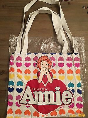 NEW- Annie The Musical Tote Bag Little Orphan Annie -BROADWAY NYC