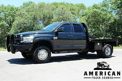 2007 Dodge Ram 3500 SLT - 4x4 - FLATBED - 5.9L CUMMINS 2007 DODGE RAM 3500 SLT 4x4 - FLATBED - 5.9L CUMMINS  SUPER NICE! FLY IN or SHIP
