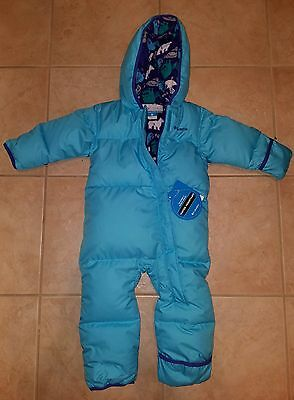 COLUMBIA Hooded Snowsuit Fleece Lined 18-24 months Toddler NWT