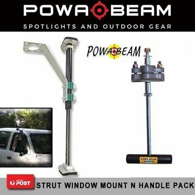 Powa Beam Strut Window Mount With Spotlight Handle Control Combo RC231WRX