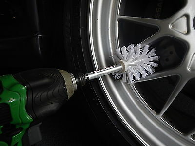 "Car Mag Alloy Wheel Brush Cleaner - ""Wheel Wizard"""