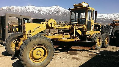1971 CATERPILLAR 140 Motor Graders