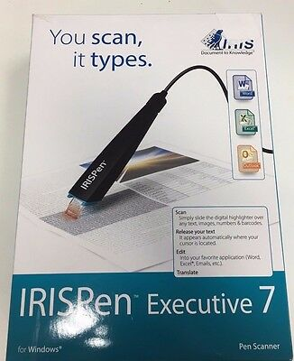 Iris Pen Executive 7 Pen Scanner
