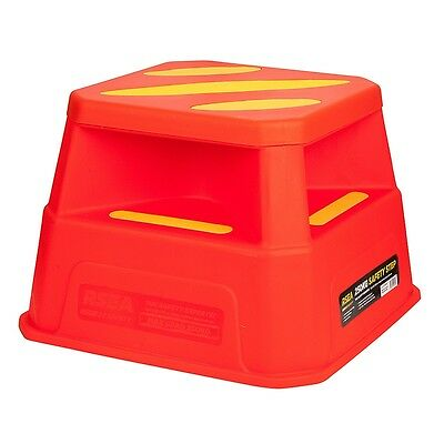 RSEA Safety Step 250kg Capacity Heavy Duty Bright High Visibility NEW 464000