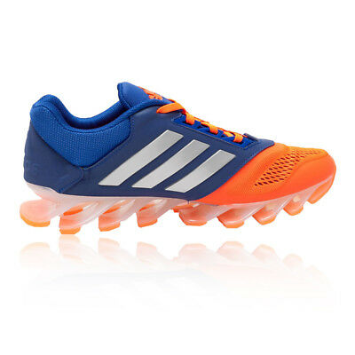 Adidas Springblade Drive 2 Mens Orange Blue Cushioned Sports Shoes Trainers