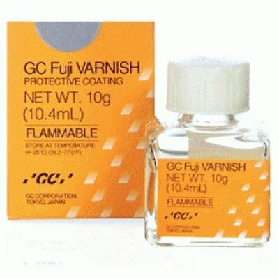 GC Fuji Varnish Protective Varnish Ideal For Use With All Glass ionomer 104ml