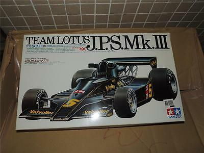 Tamiya 1/12 F1 Jps Lotus Mkiii Super Detail Kit Old Ver. #1222