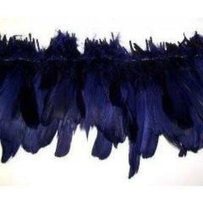 New Navy Blue Strung Goose Nagoire - Wholesale Feathers & Craft Supplies