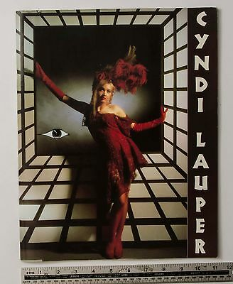 06663 CYNDI LAUPER THE TRUE COLORS TOUR 86-87 JAPAN Program Book