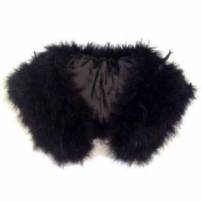 New Black Feather Shawl - Wholesale Feathers & Craft Supplies