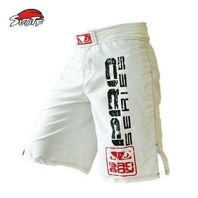 Kickboxing MMA Running Boxing Pants Tiger Muay Thai Shorts Bad Trunk Trunk Fight