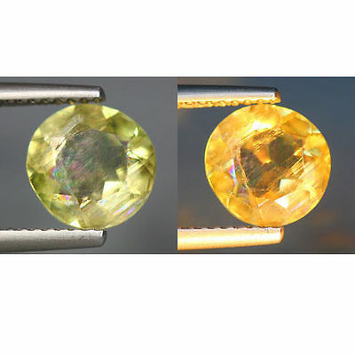 1.97 Cts_World Class Rarest Gemstone_100 % Natural Color Change Turkey Diaspore
