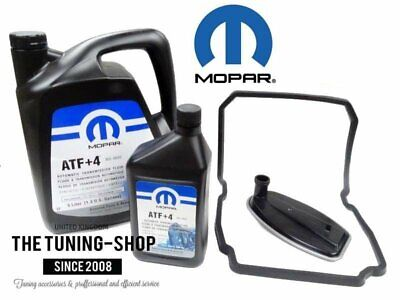 Automatic Transmission Service Kit Filter & 6l ATF+4 MOPAR Chrysler Dodge Jeep