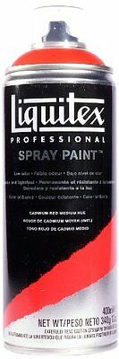 Liquitex Professional Spray Paint 400 ml, Cadmium Red Medium Hue
