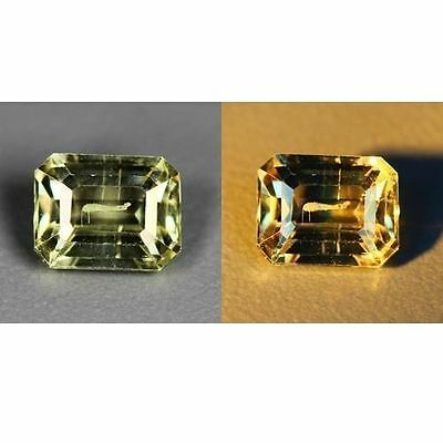 0.66 Cts_World Class Rarest Gemstone_100 % Natural Color Change Turkey Diaspore