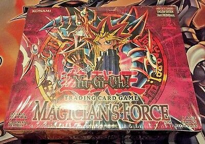 Yugioh Magician's Force 1st Edition New 24 pk box factory sealed rare perfect!