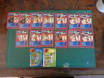 Vintage WEETBIX, AFL  swap cards, sports, cricket, football, soccer