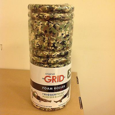 The Grid Original Foam Roller Camouflage ColourTriggerPoint Performance FREEPOST