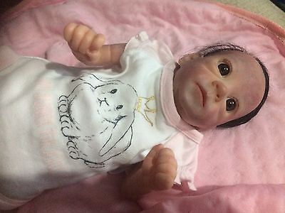Reborn Baby Girl Meredith By Bonnie Brown