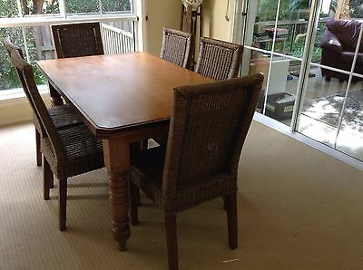 Huon Pine Table (Chairs Not Included)