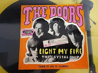 The Doors – Light My Fire, Disques Vogue – INT.18145, EP, France 1967