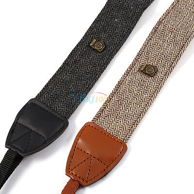 Adjustable Shoulder Neck Strap Belt Band Rope Anti-slip For DSLR SLR Camera SR
