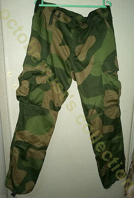 RARE Norwegian M2000 woodland pattern pants trousers!only size 50