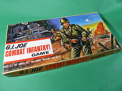 vintage 1960's GI Joe Hasbro Combat Infantry Game