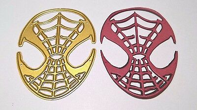 Spider-Man Mask Cutting Die Card Making Scrapbooking Diary Journal Home Decor
