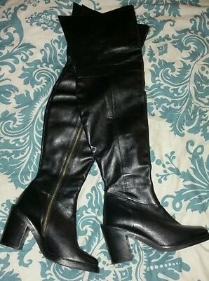 NEXT over-knee Leather Boots 6.5 REDUCED